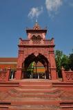 La vecchia costruzione tailandese immagine stock