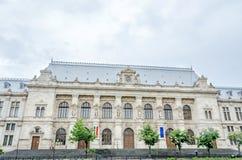 La vecchia costruzione, tribunale di Bucarest Fotografie Stock