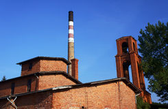 La vecchia distilleria immagini stock
