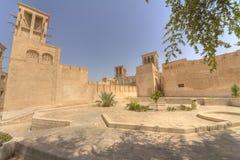 La vecchia Doubai, Emirati Arabi Uniti immagine stock libera da diritti