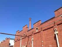 La vecchia fabbrica di birra immagini stock