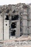 La vecchia fabbrica di Carlsberg è demolita a Copenhaghen fotografia stock libera da diritti