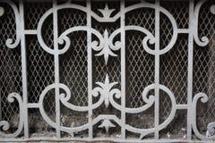La vecchia fantasia del ferro saldato hanno modellato ed il blocco per grafici della rete Fotografia Stock