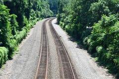 La vecchia ferrovia fotografie stock libere da diritti