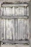 La vecchia finestra di legno Fotografia Stock