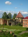 La vecchia fortezza Immagini Stock Libere da Diritti
