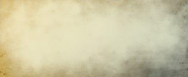 La vecchia illustrazione del fondo della pergamena o della carta con struttura di lerciume e marrone nocivo ed afflitta delle mac fotografia stock