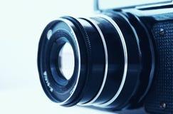 La vecchia macchina fotografica Fotografia Stock Libera da Diritti