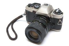 La vecchia macchina fotografica reflex Immagine Stock Libera da Diritti
