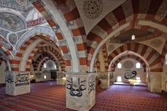 La vecchia moschea a Edirne Fotografia Stock Libera da Diritti