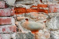 La vecchia parete Immagini Stock