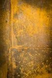 La vecchia parete arrugginita pattern2 Immagini Stock
