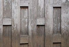 La vecchia parete di legno in Tailandia Fotografia Stock Libera da Diritti