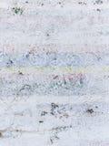 La vecchia parete dipinta si è divisa in molte parti Fotografia Stock Libera da Diritti