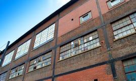 La vecchia pianta di Bethlehem Steel Immagine Stock Libera da Diritti