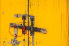 La vecchia porta bloccata Immagini Stock Libere da Diritti