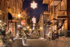 La vecchia Quebec Immagine Stock Libera da Diritti