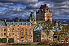 La vecchia Quebec HDR Immagini Stock Libere da Diritti