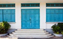 La vecchia scuola di architettura in Tailandia Immagini Stock Libere da Diritti