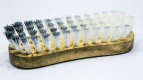 La vecchia spazzola della toilette Immagini Stock