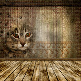 La vecchia stanza. Immagini Stock Libere da Diritti
