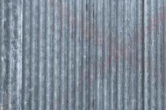 La vecchia struttura dello zinco ha galvanizzato la struttura dell'estratto del metallo di lerciume Immagine Stock