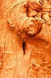 La vecchia struttura di legno Immagini Stock