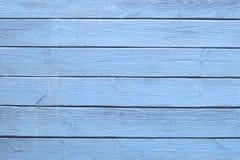 La vecchia struttura di legno blu con i modelli naturali fotografie stock libere da diritti