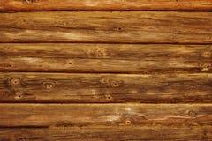 La vecchia struttura orizzontale di legno marrone immagini stock libere da diritti