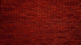 La vecchia struttura rosso scuro del muro di mattoni, Weathered ha macchiato il vecchio fondo del mattone fotografia stock