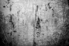 La vecchia, superficie di metallo arrugginita e graffiata, perfeziona per un fondo fotografia stock libera da diritti