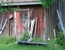 La vecchia tettoia Fotografie Stock Libere da Diritti