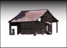 La vecchia tettoia Fotografie Stock