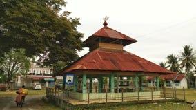 La vecchia tomba nel distretto di Pidie, l'Aceh, Indonesia fotografie stock