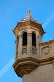 La vecchia torre con un balcone Immagine Stock Libera da Diritti