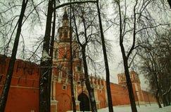 La vecchia torre del portone Fotografia Stock