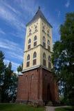 La vecchia torre in Lappeenranta Fotografie Stock