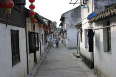 La vecchia via Fotografia Stock Libera da Diritti
