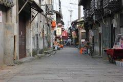 La vecchia via Immagine Stock