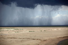 La veille de la tempête de pluie Image libre de droits