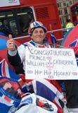 La veille du mariage royal 2011 Photos libres de droits