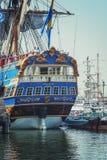 La VELA Amsterdam è una flottiglia immensa delle navi alte Fotografia Stock