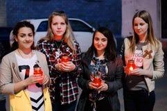 La vela de la acción de la memoria en honor de Victory Day en la guerra mundial 2 puede 9, 2016 en la región de Kaluga en Rusia Foto de archivo