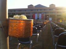La vela puede Foto de archivo libre de regalías