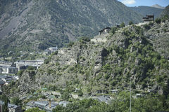 La Vella, 2014 de Andorra Imágenes de archivo libres de regalías