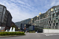 La Vella de Andorra Fotografia de Stock Royalty Free