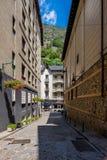 La Vella de Andorra Fotos de Stock Royalty Free