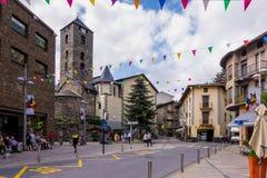 La Vella de Andorra Imagem de Stock