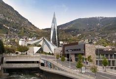 La Vella de Caldea Andorra fotos de archivo
