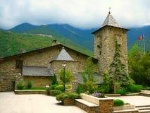 La Vella dell'Andorra Fotografie Stock Libere da Diritti